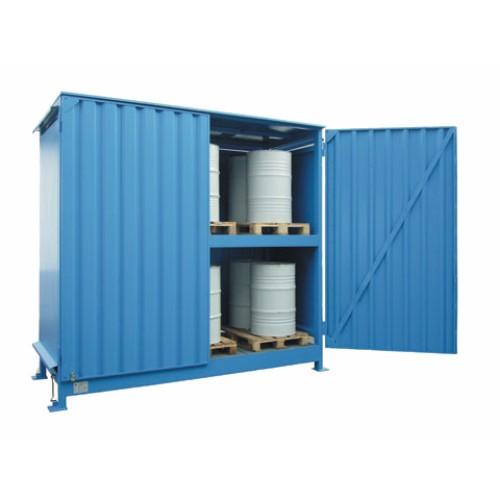 Miljöcontainer WSC-F-E.2-30, pardörrar