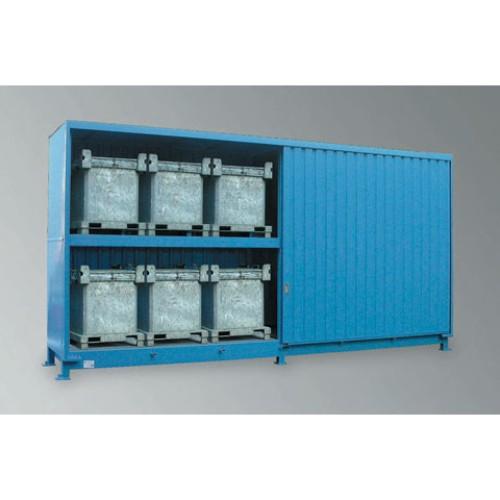 Miljöcontainer WSC-F-E.2-70  Skjutdörrar