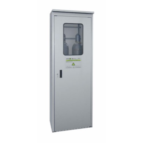 Gasflaskskåp TRG-Z 700 med plexiglasfönster i dörr