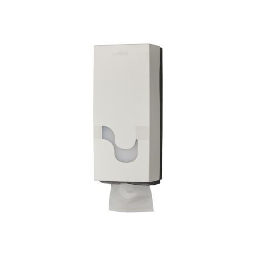 Dispenser Megamini för toalettpapper vikta