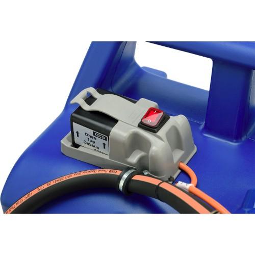 Adblue® kärra 100 L, Batteripump