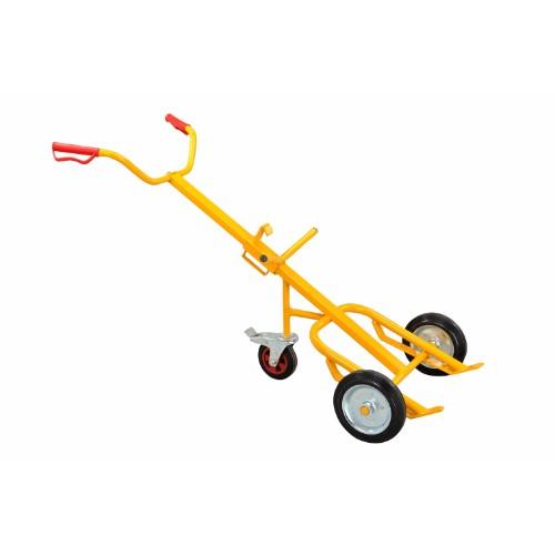Fatkärra DT45E med gummihjul och stödhjul