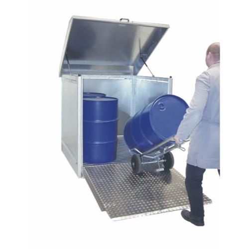 Förvaringsskåp för farliga ämnen, galvaniserat
