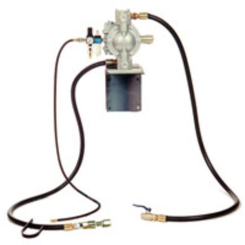Pumputrustning för spillolja m membranpump