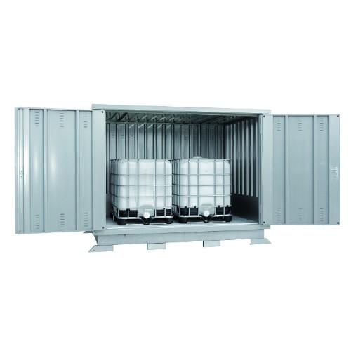 Miljöcontainer SLH 3x2/IBC  Förzinkad