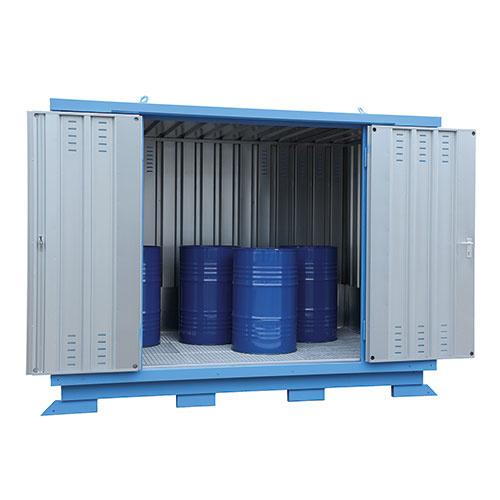 Modul Container SLH 3x2  Förzinkad & Lackad Blå