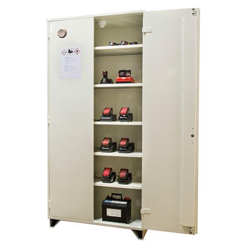 Brandisolerat batteriskåp, 209,5 x 100 x 47