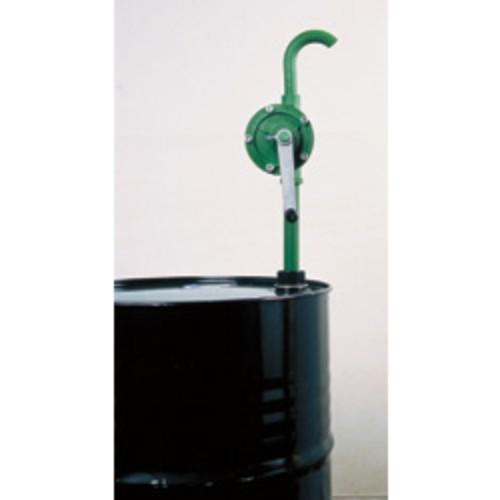 Rotationspump för kem med handvev