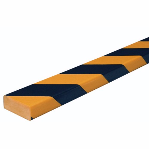 Varnings - skyddslist Typ D, 1 Meter