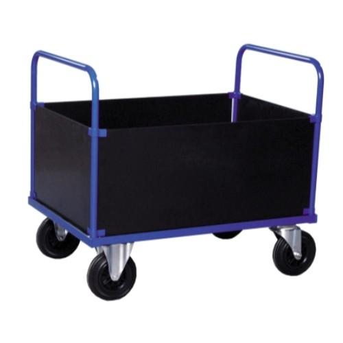 Lådvagn - Hög