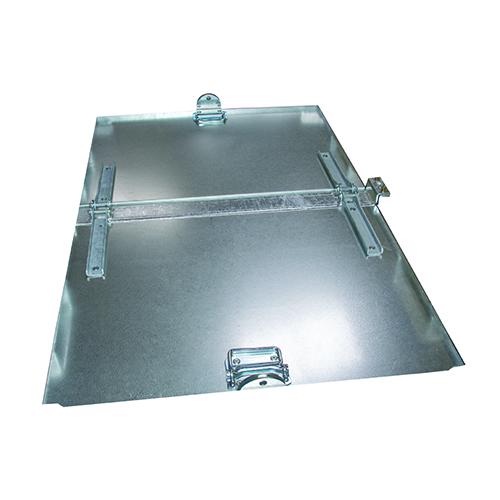 Lock tvådelat till Tippcontainer FB500 & FB750