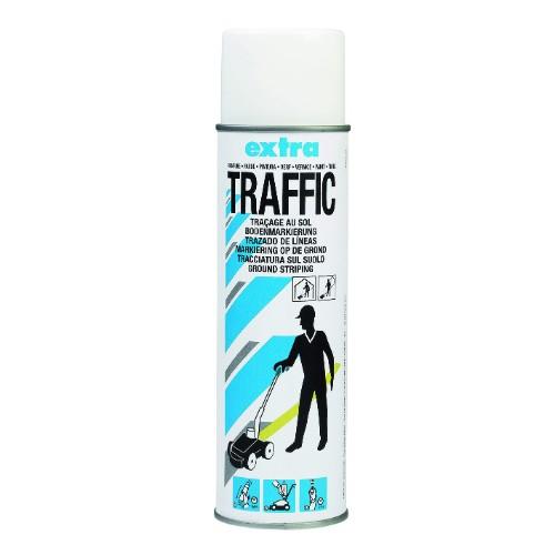 Sprayfärg Traffic Extra Vit