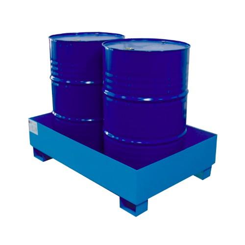 Miljöpall CW 2-fats, blå, utan galler