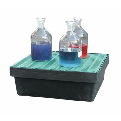 Uppsamlingskar 15 liter med PE galler