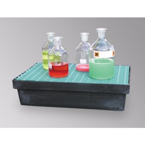Uppsamlingskar 20 liter med PE galler