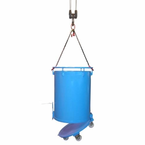 Cylindrisk behållare RB med bottentömning