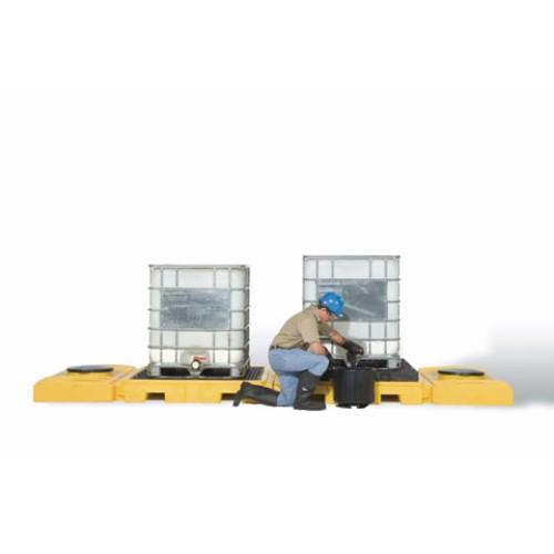 Spillpall för IBC, 2-tanksmodell av PE