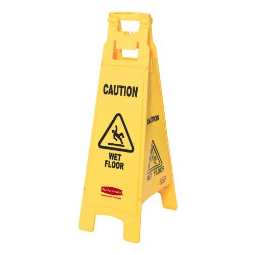 Varningsbock för golv, 4-sidig