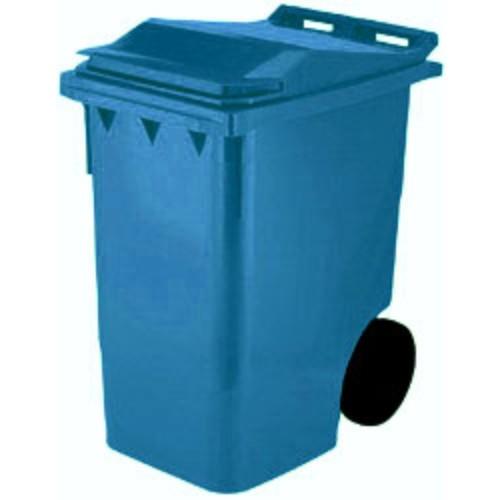 Avfallsbehållare 360 l, Blå