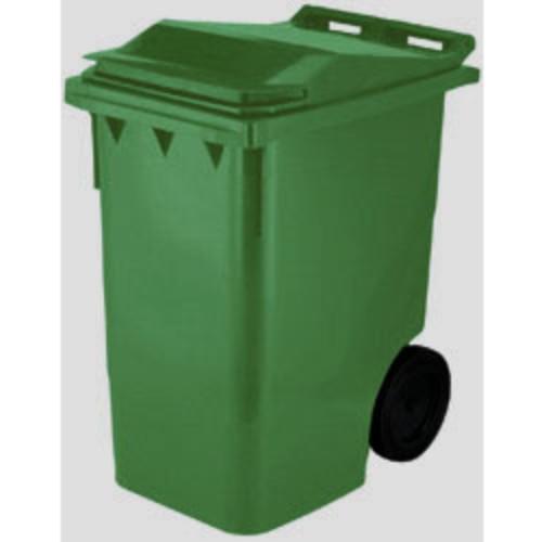 Avfallsbehållare 360 l, Grön